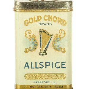 Gold Chord Spice Tin