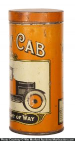 Yellow Cab Cigar Tin