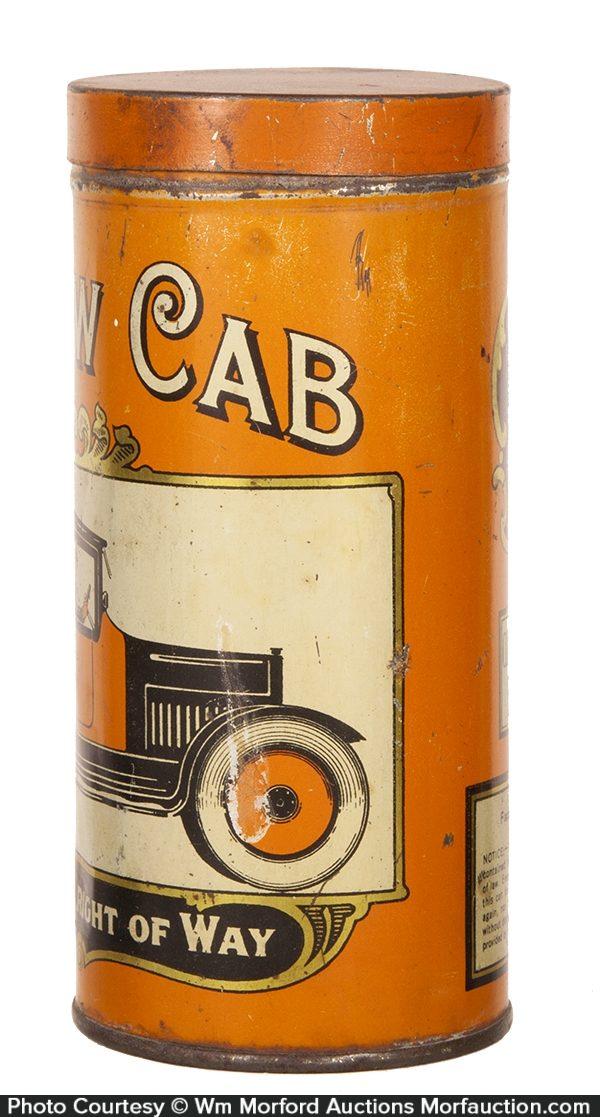 Yellow Cab Cigar Tin