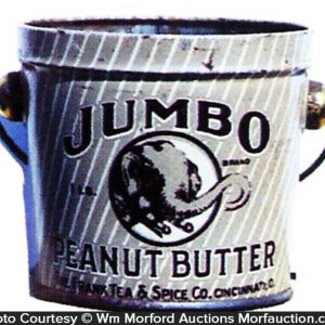 Jumbo Peanut Butter Pail