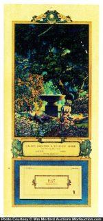 1927 Edison Mazda Reveries Calendar