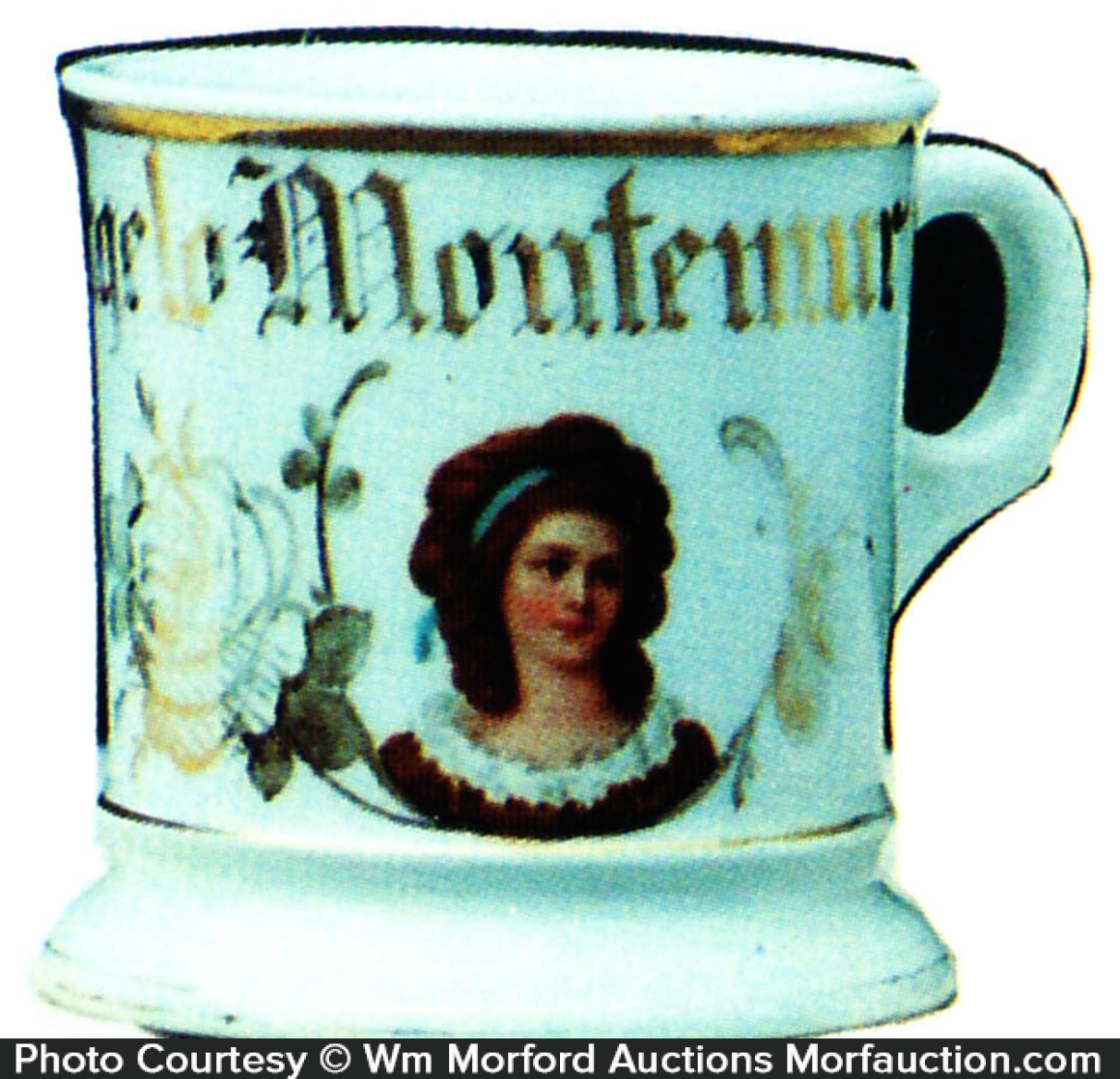 Victorian Shaving Mug