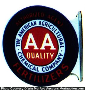 American Agriculture Fertilizers Sign