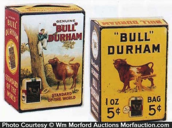 Bull Durham Tobacco Box