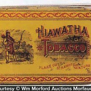 Hiawatha Tobacco Tin