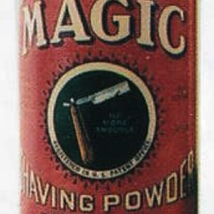 Magic Shaving Powder Tin