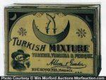 Turkish Mixture Tobacco Tin