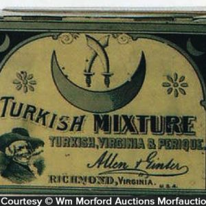 Turkish Mixture Tobacco Tin
