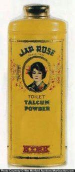 Jap Rose Talcum Powder Tin