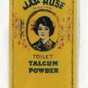 Jap Rose Talcum Powder Tin