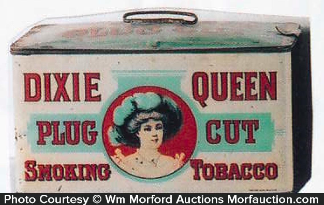 Dixie Queen Tobacco Pail