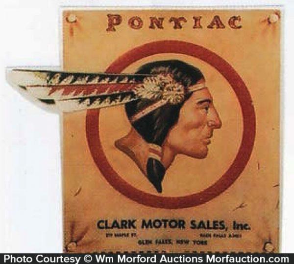 Pontiac Indian Sign
