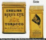 English Bird's Eye Tobacco Tin