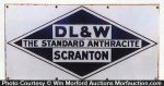 Dl & W Scranton Coal Sign