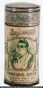 Imperial Shaving Stick Tin