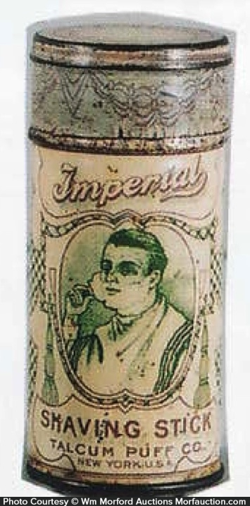 Imperial Shaving Stick Tin