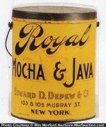 Royal Mocha & Java Coffee Pail