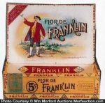 Flor De Franklin Cigar Box