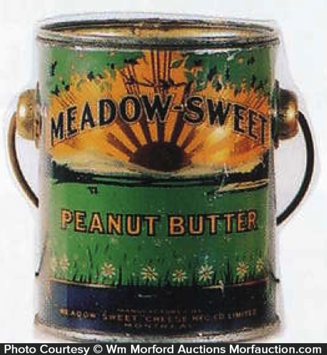 Meadow-Sweet Peanut Butter Pail