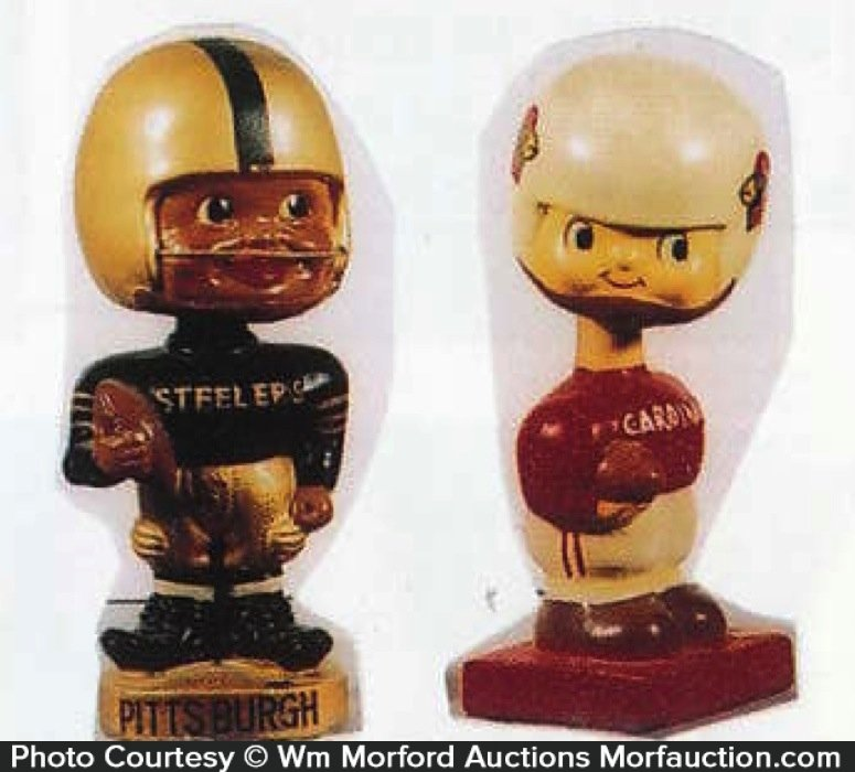 Vintage Nfl Bobble Heads