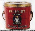 Fi-Na-St Peanut Butter Pail