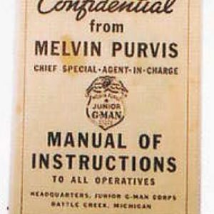 Melvin Purvis Instruction Manual