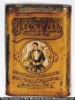 Tuxedo Gold Tobacco Tin