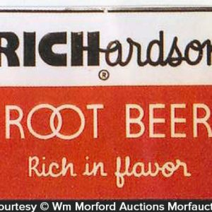 Richardson Root Beer Sign