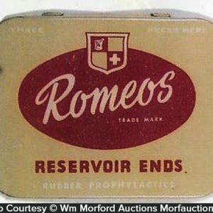 Romeos Reservoir Ends Tin