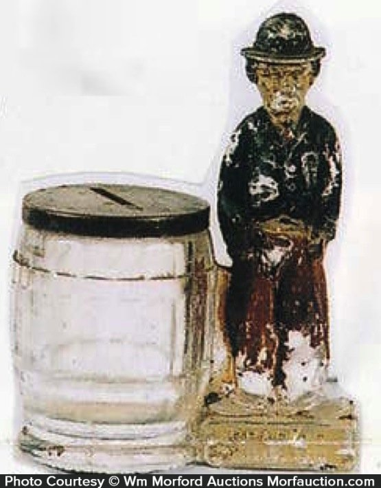 Charlie Chaplin Candy Container