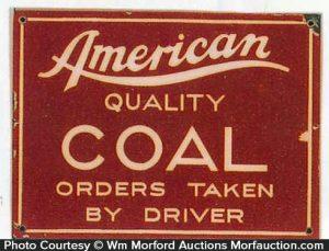 American Coal Sign