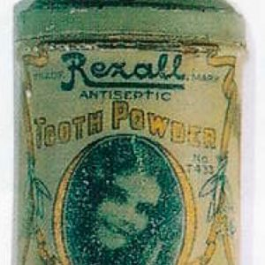 Rexall Tooth Powder Tin