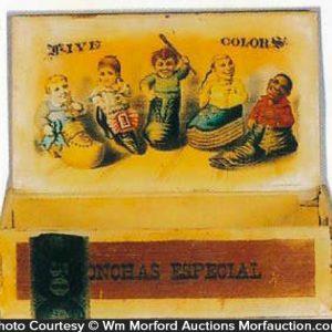 Five Colors Cigar Box