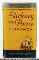 Stickney & Poor's Spice Tin