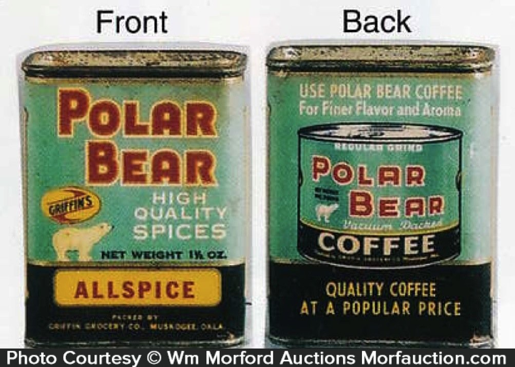 Polar Bear Spice Tin