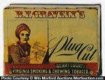 Gravely's Plug Cut Tobacco Tin