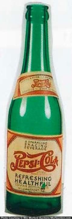 Vintage Pepsi-Cola Bottle