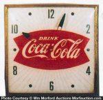 Drink Coca-Cola Clock