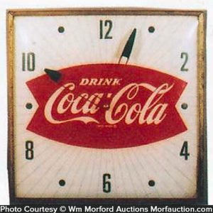 Drink Coca-Cola Clock
