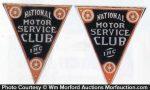Motor Service Club Signs