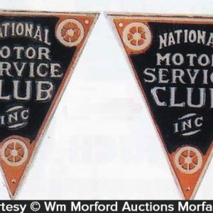 Motor Service Club Signs