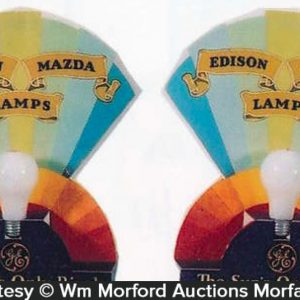 Edison Mazda Lamps Displays
