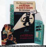 Eveready Flash-O-Scope Display