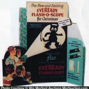 Eveready Flash-O-Scope Display