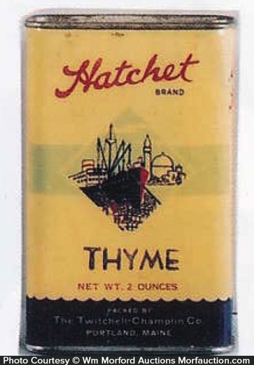 Hatchet Spice Tin