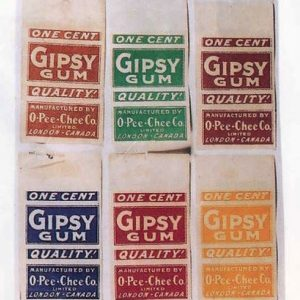 Gypsy Gum Wrappers