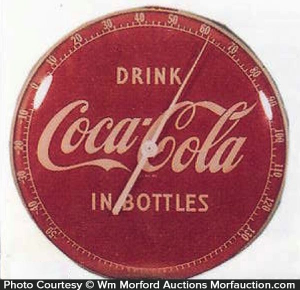 Drink Coca-Cola Thermometer
