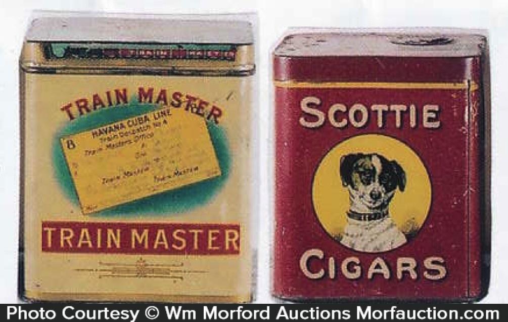 Vintage Cigar Tins