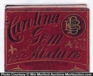 Carolina Gem Tobacco Tin