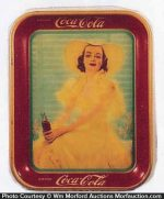 Coca-Cola Yellow Dress Tray